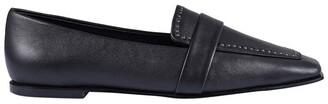 Siren Risky Black Flat Shoe
