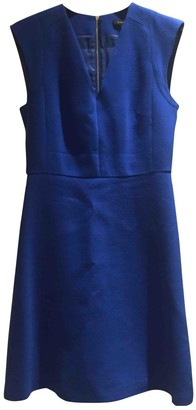 Tara Jarmon Blue Wool Dress for Women