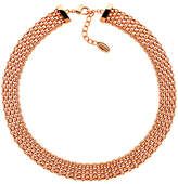 Finesse Chunky Mesh Collar Necklace