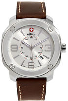 Swiss Military Escort Silver Stainless Steel Watch