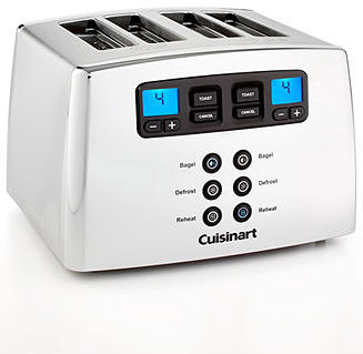 Cuisinart CPT440C Countdown Leverless 4-Slice Toaster