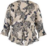House of Fraser Chesca Applique Detail Floral Devoree Shrug