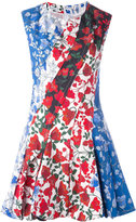 Dondup printed flared dress - women - Cotton/Spandex/Elastane/Cupro - 40