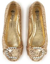 Juicy Couture Else Ballerina, Gold Glitter