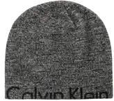 Calvin Klein Men's Marled Cutoff Logo Hat