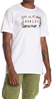 Hurley Boarders Box Logo T-Shirt