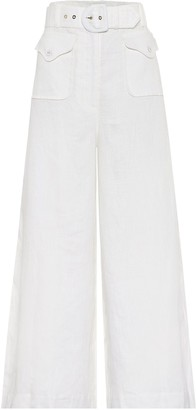 Zimmermann Super Eight Safari linen pants