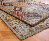 Napa Style Diamond Floral Wool Rugs