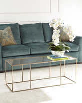 Arteriors Dowd Mirrored Coffee Table