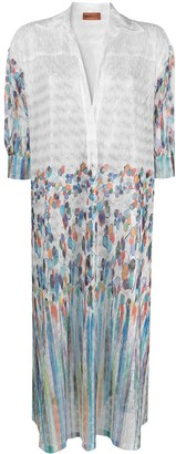 Missoni Mare Finely-Woven Shirt Cover-Up