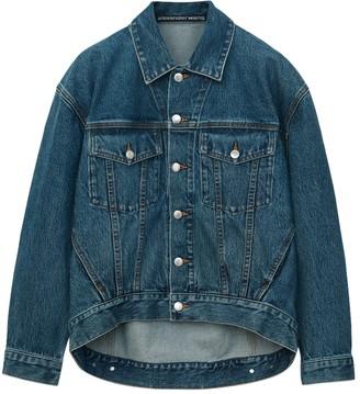 Alexander Wang Vintage Dark Indigo Falling Back Jacket