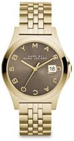 Marc by Marc Jacobs Henry Slim Goldtone Stainless Steel Bracelet Watch/Dirty Martini