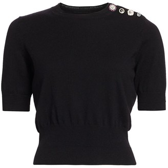 Marc Jacobs The Jewelled Button Sweater