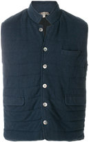 N.Peal padded cashmere waistcoat
