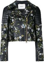 Erdem - veste crop à fleurs - women