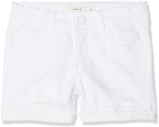 Name It Girls' NKFSALLI DNMTHYRA 8001 Shorts NOOS