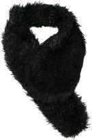 Simone Rocha furred scarf - women - Polyamide/Mohair/Wool - One Size
