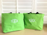 Etsy Personalized tote bag, monogrammed tote bag, bridesmaid tote bag, wedding tote, monogrammed gift, p