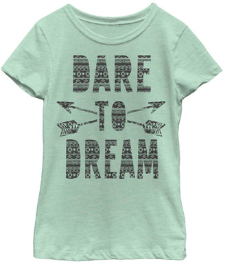 Fifth Sun Girls' Tee Shirts Mint - Mint 'Dare to Dream' Tee - Toddler & Girls