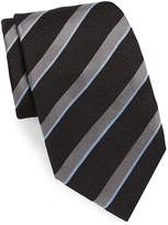 Brioni Men's Retro Stripe Silk Tie