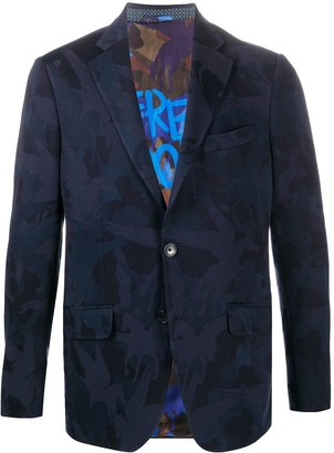 Etro Abstract Pattern Blazer