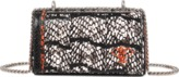 Emilio Pucci Micro Pilot Shoulder Flap Bag With Chain