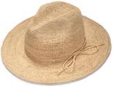 Justine Hats Wide Brim Straw Raffia Fedora