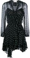 Zimmermann polka dot wrap dress