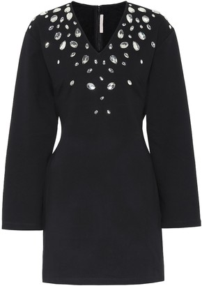 Christopher Kane Crystal-embellished minidress