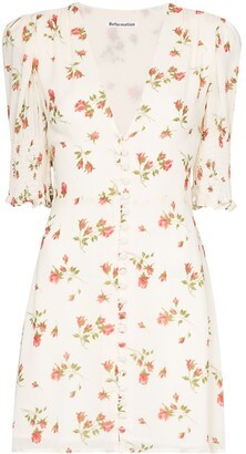 Reformation Alison floral-print mini dress
