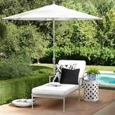 Williams-Sonoma Williams Sonoma Sunbrella Outdoor Solid Pillow Cover with Piping, Black