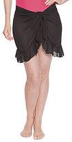 Dotti Sarong Along Ruffle Chiffon Skirt