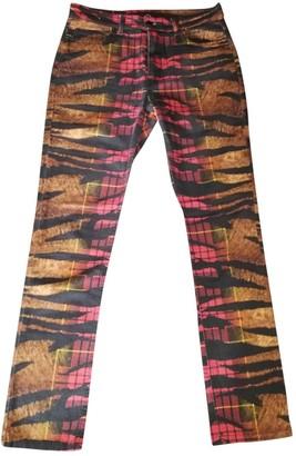 McQ Multicolour Cotton - elasthane Jeans for Women