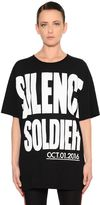 Haider Ackermann Silence Soldier Cotton Jersey T-Shirt