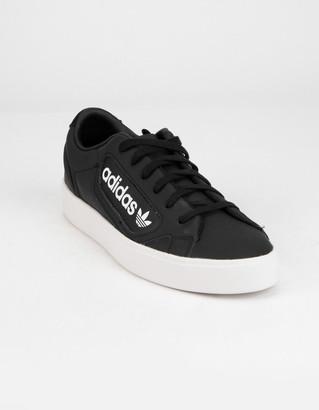 adidas Sleek Womens Black Shoes