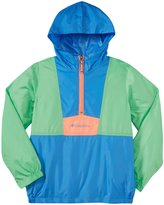 Columbia Flashback Windbreaker (Kid)-Harbor Blue-Medium