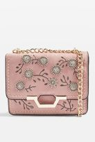 Topshop RILEY Beaded Cross Body Bag
