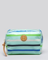 Tory Burch Cosmetic Case - Brigitte Stripe