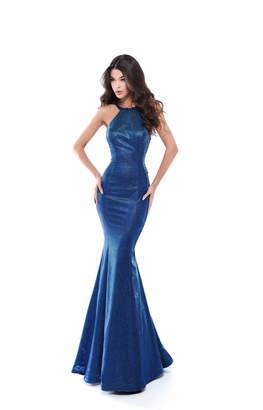 Tarik Ediz Glitter Alina Gown