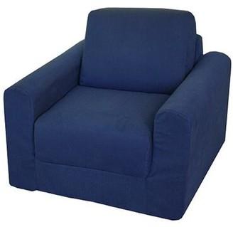 Geneve Armchair Winston Porter Upholstery: Denim - Blue