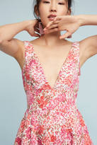 Monique Lhuillier Jessa Embroidered Dress