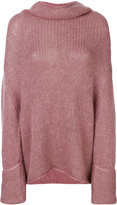 Semi-Couture Semicouture roll neck jumper