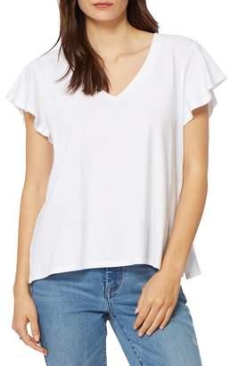Habitual V-Neck Flutter Sleeve T-Shirt