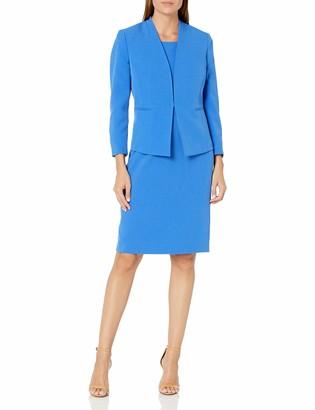 Le Suit LeSuit Women's Open Stretch Crepe Jacket and Sheath Dress Suit