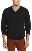Cutter & Buck Men's Big-Tall Broadview V-Neck Sweater