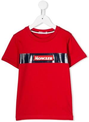 Moncler Enfant printed logo T-shirt