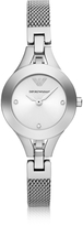 Emporio Armani Classic Sleek Stainless Steel Women's Watch