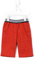 Familiar striped waistband shorts - kids - Cotton - 2 yrs