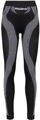 Misbhv Striped Leggings