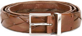 Brunello Cucinelli interlaced leather belt